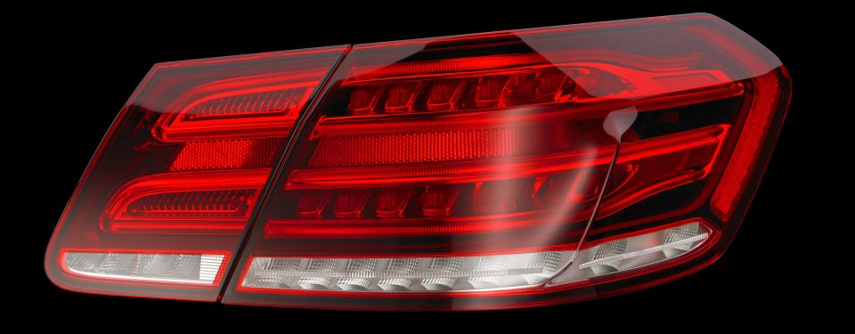 First multi-level intensity rear light