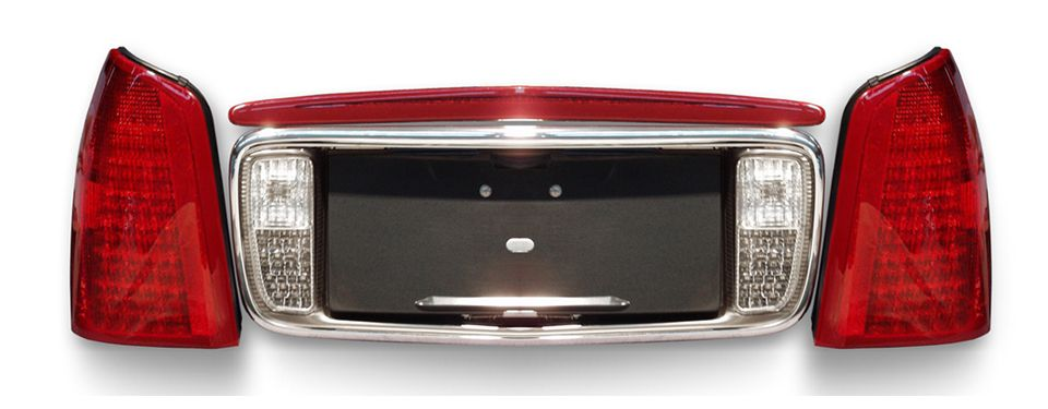 First Full-LED tail light