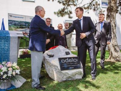 Mr. Ahmet Bayraktar (owner odelo Group) and Dr. Miro Cerar (Prime Minister Slovenia)