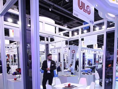 ULO and KAT exhibition stand in Dubai